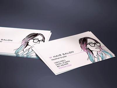 Business Card Design graphic design design branding illustration businesscard