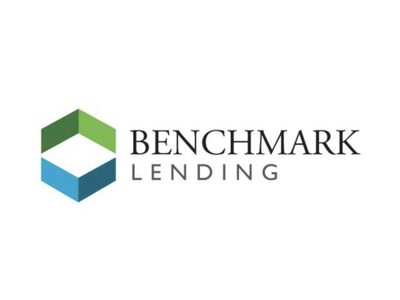 Benchmark Lending Financial Logo branding graphicdesign logodesign logo