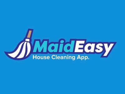 Maid Easy - House Cleaning App Logo app brandidentity branding logodesign graphicdesign logo