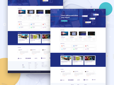 Pupil – Education Learning Management System Admin Template web design startups business university udemy tutorial teacher school lesson learning management system instructor elearning education dashboard coursera course college admin