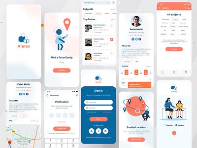 Annex- Find an expert tutor IOS App tutoring