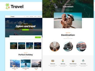Travel Agency   WordPress Elementor Theme