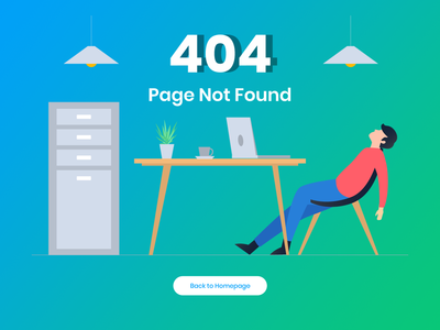 404 Error Page Template