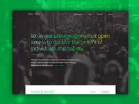 New Web Branding (homepage)