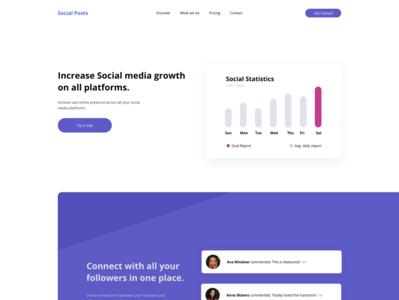 Social Media Analytics Web UI