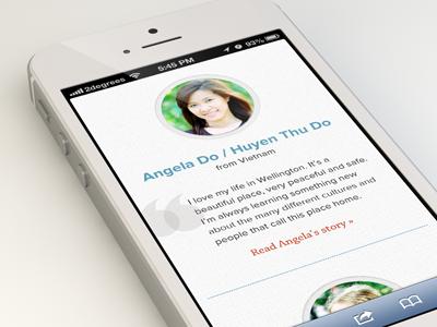 Studentstories mobile