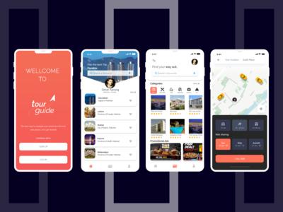 Tour Guide - Mobile App