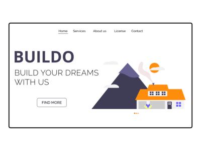 BUILDO - Landing Page Design