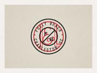 Folly Beach Stamp