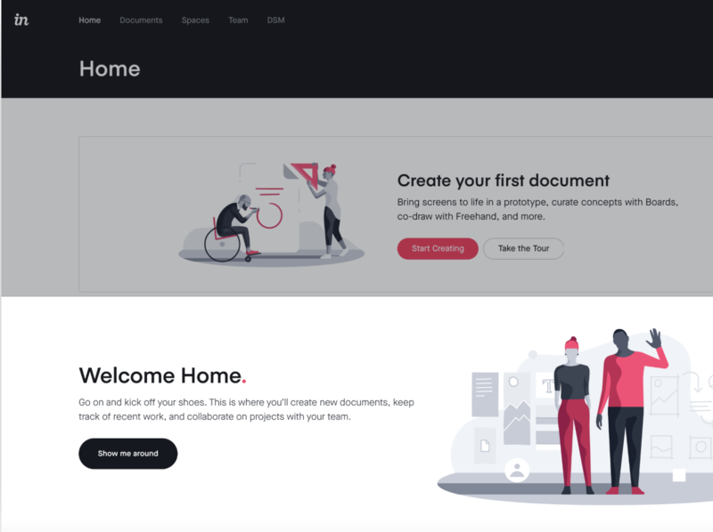 InVision Cloud banner