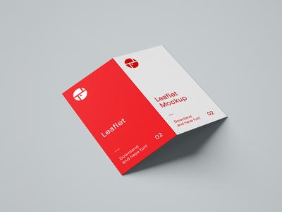 2 Fold Brochure leaflet design leaflet brochure template brochure layout brochure mockup brochure design brochure