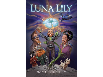 LUNA LILY - a middle grade graphic novel book author graphicnovel cartoon character character design branding design childrens book fantasy illustration sciencefiction
