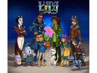 """""""Luna Lily"""" (a child novel)"""