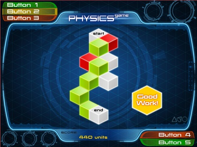 Physics Game concept art education