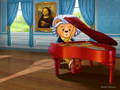 """Bearthoven"" beethoven composer music"