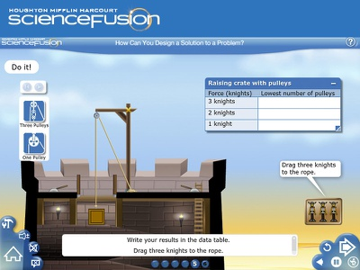 Lessons Science Fusion animation ui components education science