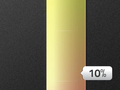 Progress bar & indicator bar progress percentage indicator colors ios gradient iphone app