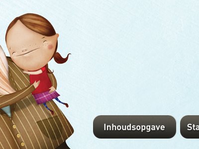 Kwijt Weg Foetsie - Home buttons books book app children child illustration ios ipad home kids kid