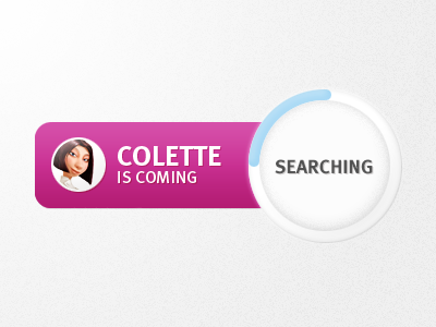 Employee search ipad ios button search found