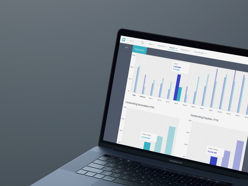 Daily and Weekly Reports Screen saas ui ux platform kudret clean dashboard reports