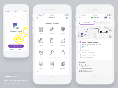 Delivery Application - Mobile
