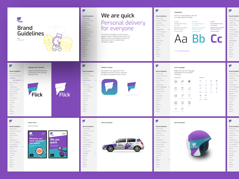 Flick   branding guidelines