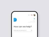 Search engine design   mobile layout