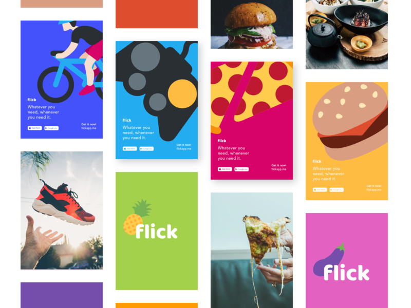 Branding Identity For Food Delivery App poster art web design typography simple minimal illustration icons delivery guidelines documentation desktop design system design guide design brand strategy branding brand identity brand book brand blue
