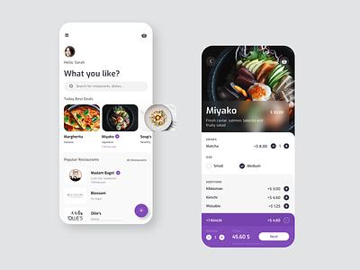 What You Like? product design uxui design pizza branding mobile web design icon guidelines graphics food dubai cart order design system design delivery illustration button app design app