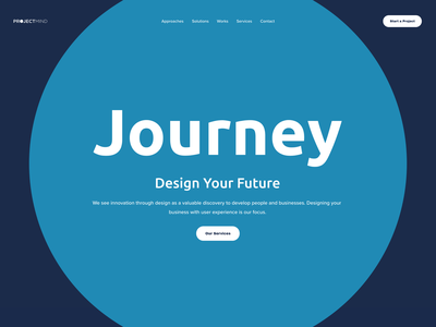 New! ProjectMind.co portfolio website agency website portfolio site kudret branding design projectmind ui ux