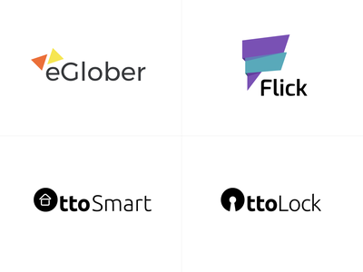 A few logo from 2019 identity icon logodesign smarthome delivery clean projectmind branding logo