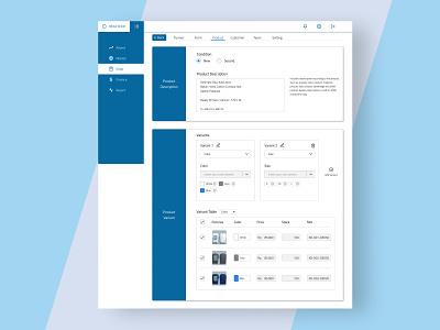 Inventory Management - Scroll 2 report finance shopping market inventory management desktop ui uiux uidesign 2d