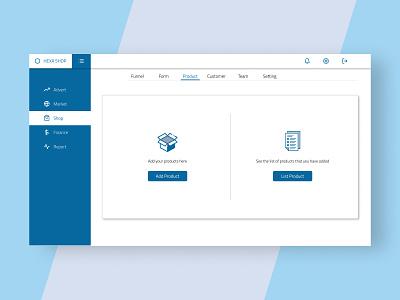 Inventory Management - Home report finance shopping market inventory management desktop ui uiux uidesign 2d