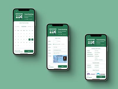 Muncak Apps - Page 2 ticket booking booking app hiking branding illustration logo mobile ui mobile app design uiux uidesign 2d