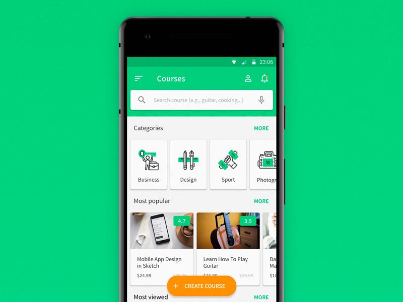 Kết quả hình ảnh cho mobile app for elearning