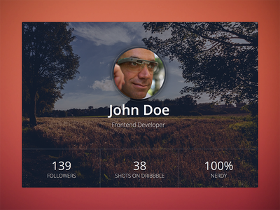 UserProfile Widget user profile ui kit