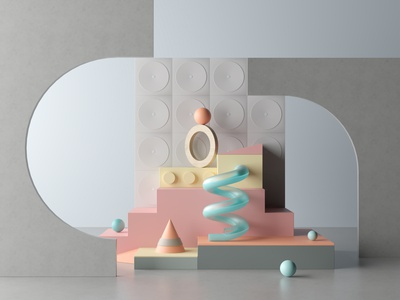 Abstract Composition coronarender photoshop design composition abstract 3dsmax