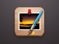 Pixelmator iOS icon