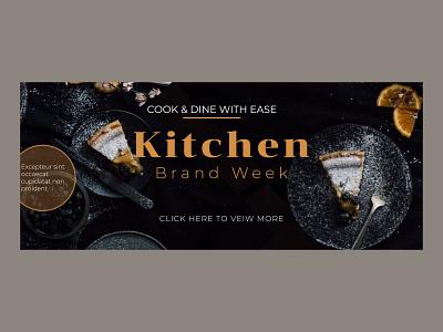 cooking banner cooking banner colors vector logo illustration black landing page photoshop figma print design