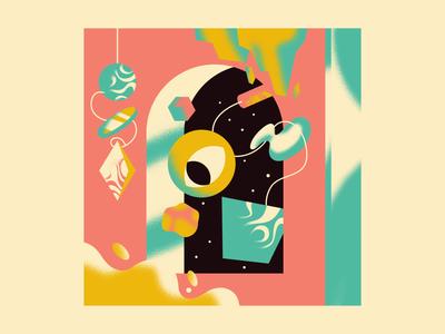 """""""Eyegate"""" art noise drawing design illustration"""