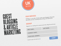 UK BLOGS - Web Site