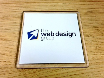 The Web Design Group Coaster's coasters branding