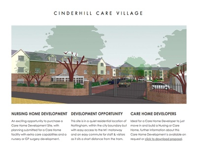 Cinderhill Care Village - Web Site html5 css3 web design web development