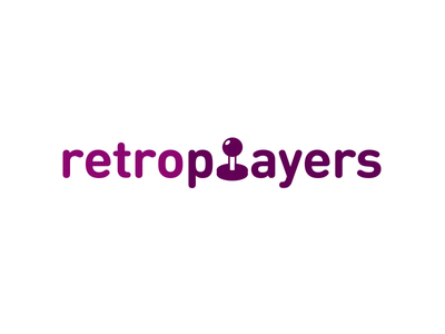 RetroPlayers Logo logo branding gaming