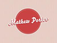 Mathew Porter Portfolio Logo Design