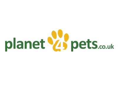 Planet4Pets Branding pets green yellow logo design