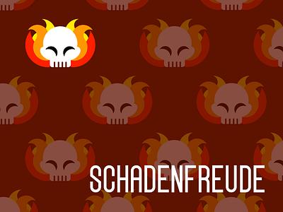 Schadenfreude | FIFTY/2020 illustration hot sauce fifty2020 design branding brand identity art challenge vector logo illustrator