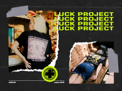 Luck.co project t-shirt