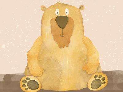 Beary Manilow digital drawing character design character illustration digital illustration procreate art illustration