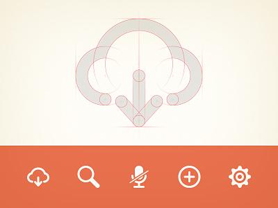 Icons ui user interface icon icons set design web app glyph clean minimal flat